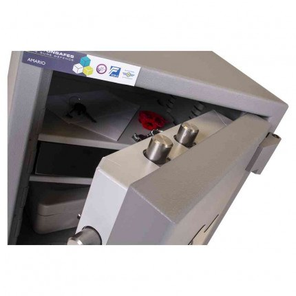 Burton Amario 2E Grade 3 Electronic Security Safe £35K - door bolts