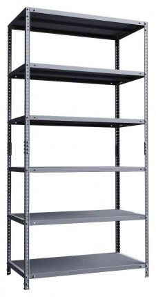 Phoenix AR2015/6G 6 Tier Static Shelving 200x100x50cm empty