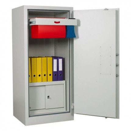 Chubbsafes Archive Fire Security Cabinet Size 325 showing optional internal fittings
