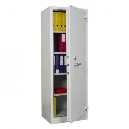 Chubbsafes Archive 450 Single Door Fire Security Cabinet door ajar