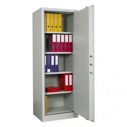 Chubbsafes Archive 450 Single Door Fire Security Cabinet door open