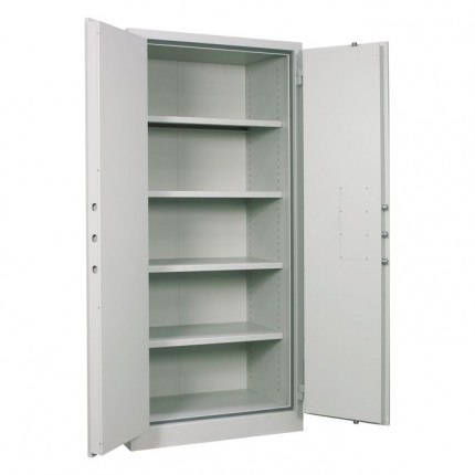 Chubbsafes Archive 640 Large Fire Security Cabinet door open