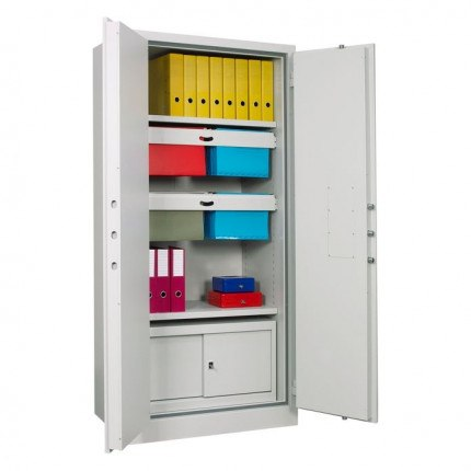 Chubbsafes Archive 640 Large Fire Security Cabinet - showing Lateral suspension files