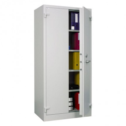 Chubbsafes Archive 640 Large Fire Security Cabinet door ajar