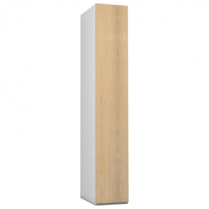 Probe 1 Door Ash TimberBox MDF Woodgrain Door Steel Locker