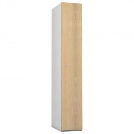 Probe 1 Door Ash TimberBox MDF Woodgrain Door Steel Locker