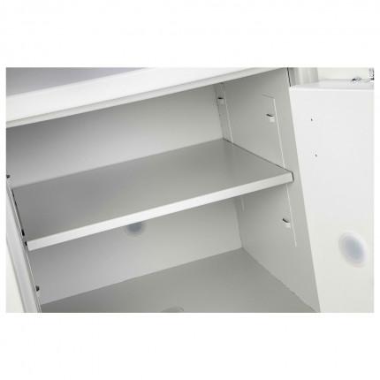 Burton Eurovault Aver 0K Eurograde 3 Key Locking Security Fire Safe - Internal Shelf