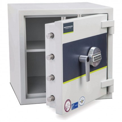Burton Eurovault 0E Eurograde 3 £35,000 Security Fire Safe - door ajar