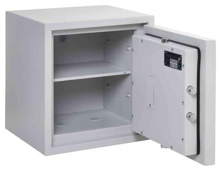 Burton Eurovault Aver 1E Eurograde 0 Electronic Safe £6,000 Rated - door open