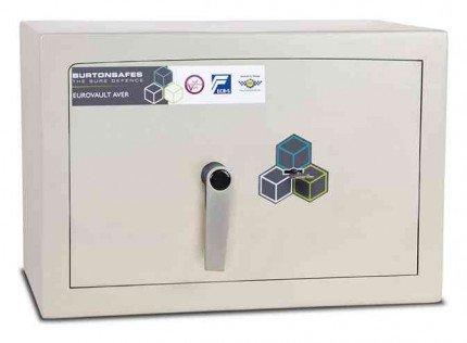 Burton Aver Lightweight Eurograde 1 Safe Size 1 Key Lock - door closed