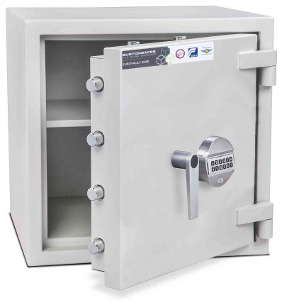 Burton Eurovault Aver 1E Eurograde 2 Electronic Security Fire Safe - open