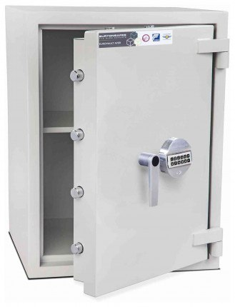 Burton Eurovault Aver 2E Eurograde 2 Electronic Security Fire Safe - open