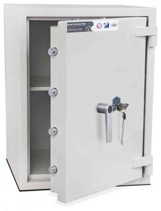 Burton Eurovault Aver 2K Eurograde 2 Key Locking Security Fire Safe - open