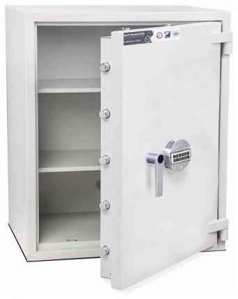 Burton Eurovault Aver 4E Eurograde 2 Electronic Security Fire Safe - door open