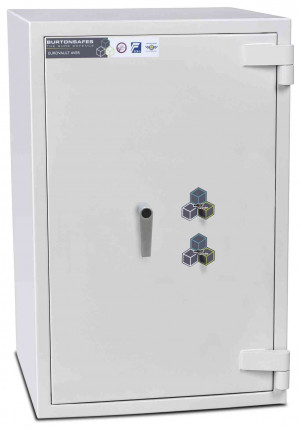 Burton Eurovault Aver 3KK Eurograde 4 Twin Key Lock Security Fire Safe - closed