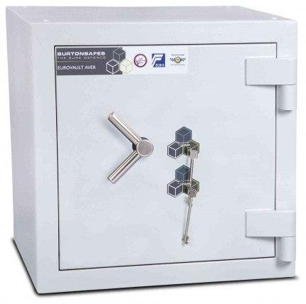 Burton Eurovault Aver 1KK Eurograde 5 twin Key Lock Security Fire Safe