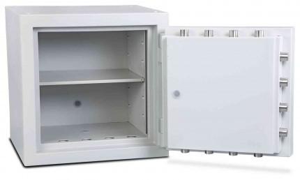 Burton Eurovault Aver 1KK Eurograde 5 twin Key Lock Security Fire Safe - interior