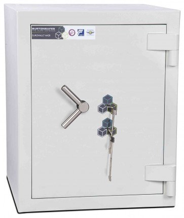 Burton Eurovault Aver 2KK Eurograde 5 Twin Key Lock Security Fire Safe - closed