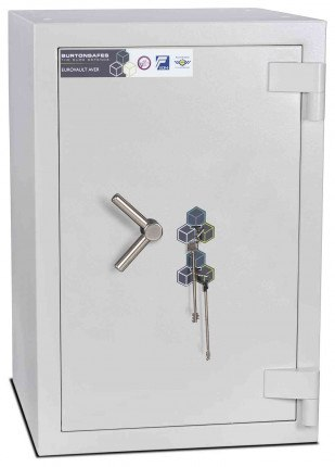 Burton Eurovault Aver 3KK Eurograde 5 Twin Key Lock Security Fire Safe