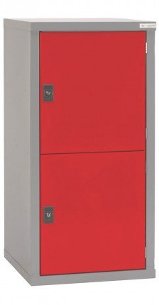 Welded Steel 2 Tier Locker 122x60x60 - Bedford BD18266