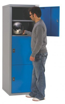 Welded Steel 3 Tier Cabinet 178x60x60 - Bedford BD18766