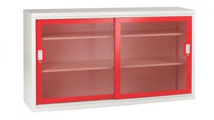 Bedford 84MD084 Steel Mesh Sliding Door Cabinet 1020x1830x460
