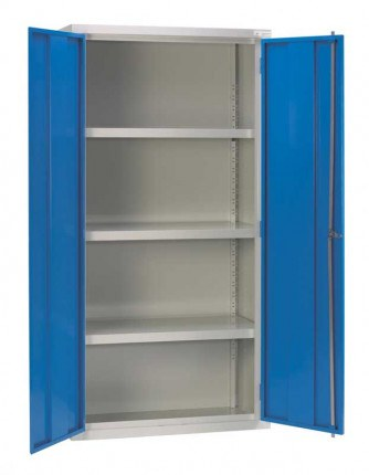 Bedford 80899 Heavy Duty Extra Deep Welded Cabinet 1800x900x900 - open