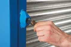 Bedford Steel Roller Shutter Door Key Lock