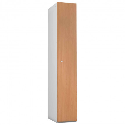 Probe 1 Door Beech TimberBox MDF Woodgrain Door Steel Locker