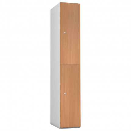 Probe 2 Door Oak TimberBox MFC Woodgrain Door Steel Locker