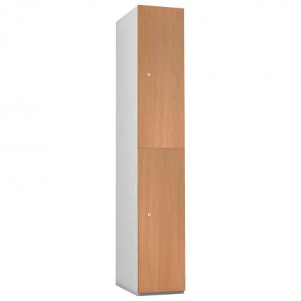 Probe 2 Door Oak TimberBox MDF Woodgrain Door Steel Locker