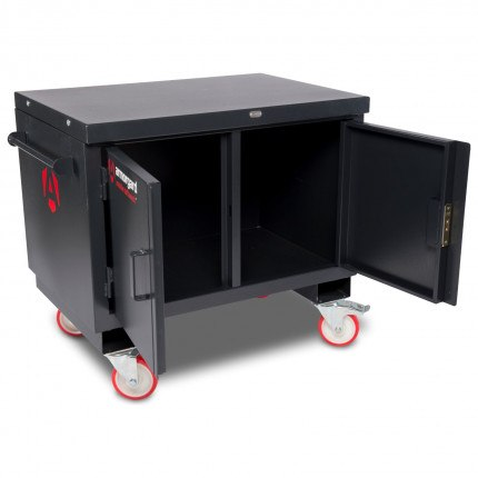Mobile Workbench - Armorgard Mobile TuffBench- Open Without Wooden Top