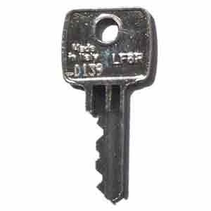 Bisley Replacement Key - Key for Bisley Filing Cabinets, Cupboards and Lockers