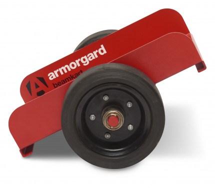BeamKart BK1 heavy-duty material handling trolley UDL 500kg with hard rubber wheels