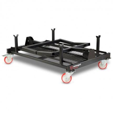 Mobile Storage Transportation - Armorgard BundleRack - Folded
