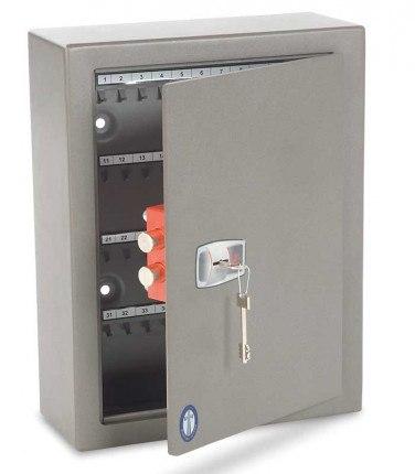 Burton CK40 Key Locking Key Security Cabinet for storing 40 Keys