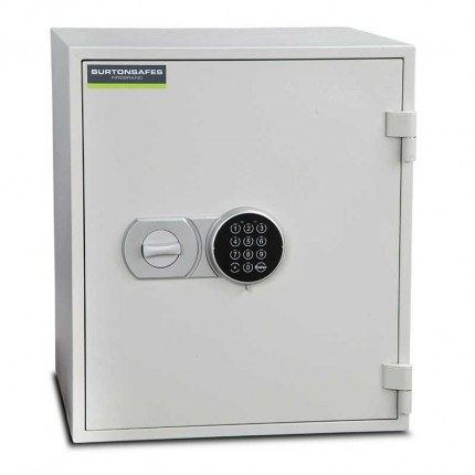 Burton Firebrand Size 3 Fireproof Home Electronic Safe - door closed