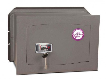Burton Torino DK3K £4000 Rated Key Locking Wall Safe - door closed