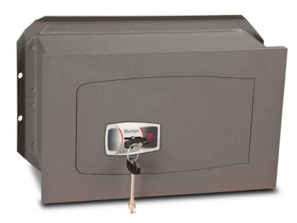 Wall Security Safe Key Locking - Burton Torino DK2K - door closed