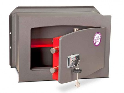 Burton Torino DK3K £4000 Rated Key Locking Wall Safe - door ajar