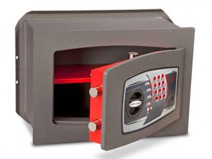 Burton Torino DK3E £4000 Rated Electronic Wall Safe - door ajar