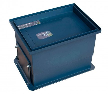 Burton Sotto En14450 S2 Certified and Tested £4000 Rated Floor Safe - Full Height and Closed