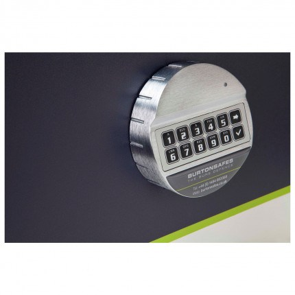Burto Duo Electronic Digital Lock fitted to the Firesec 4/60/4E