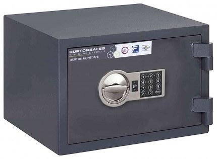 Electronic Grade 0 Security Safe - Burton Home Safe 2E - door closed