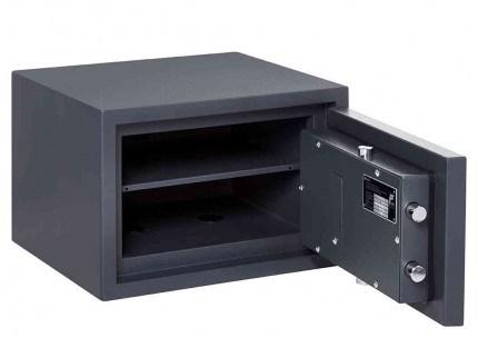 Electronic Grade 0 Security Safe - Burton Home Safe 2E - door open