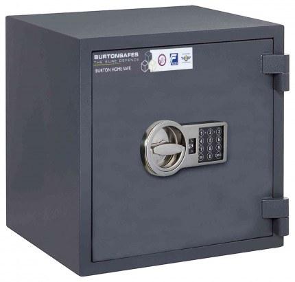 Electronic Grade 0 Security Safe - Burton Home Safe 3E - door closed