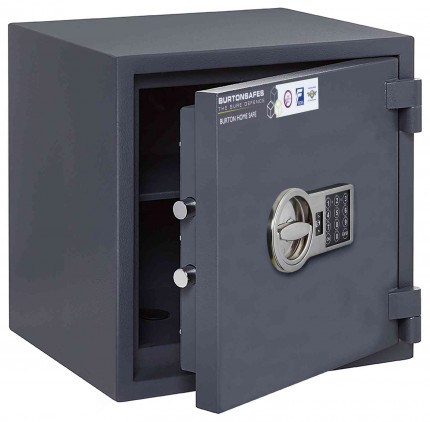 Burton Home Safe  LFS 30 3E Eurograde 0 £6,000 Rated - Door ajar