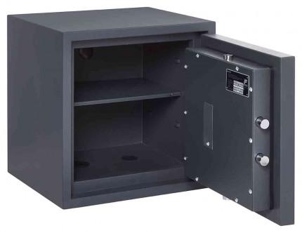 Electronic Grade 0 Security Safe - Burton Home Safe 3E - door open