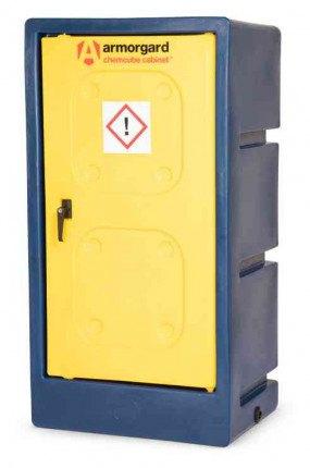 Armorgard Chemcube CCC2 Leak Proof Liquids Plastic Cabinet - closed