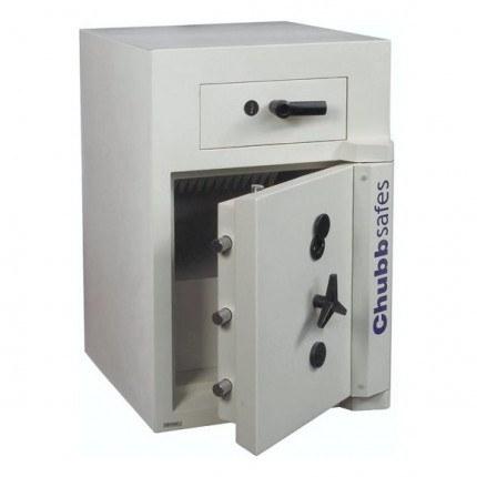 ChubbSafes Sovereign Deposit Safe Grade 3 Size 2 - Safe Door Open